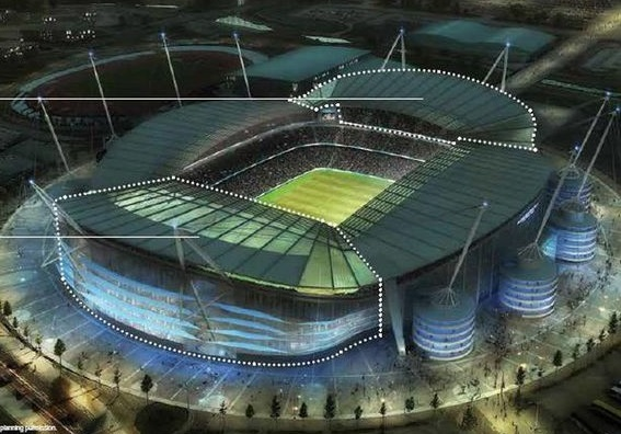 How the Etihad will look following expansion completion