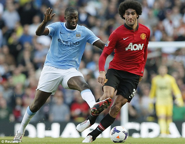Yaya Toure and co dominated the midfield in the 166th Manchester Derby last month