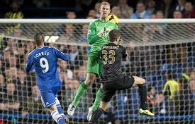 Joe Hart costs City a valuable point at Chelsea