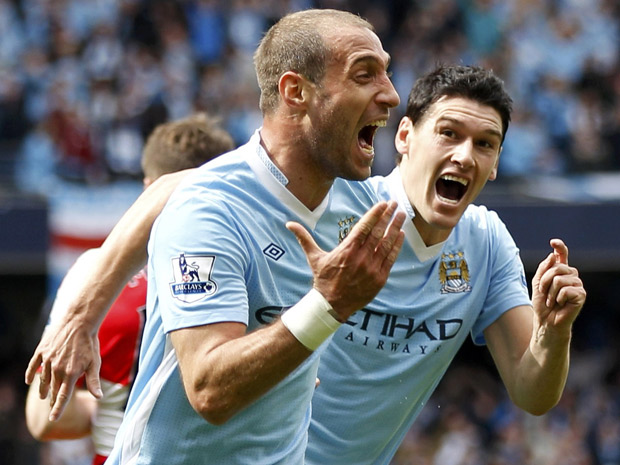 Zaba gets City on their way to the emphatic League win