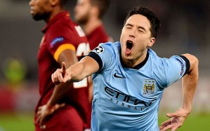 Samir Nasri's wonder strike broke the deadlock in Rome to round off a great year