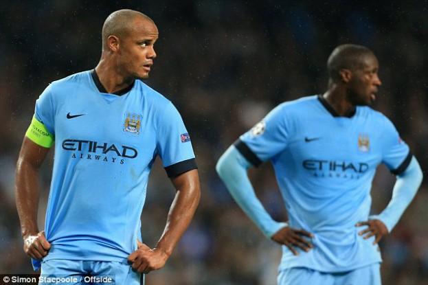 Two of City's pillars of success. Are their days in Manchester numbered?