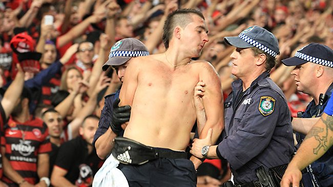 Australian soccer still faces hooliganism issues today, but it's a fraction of what it once was.