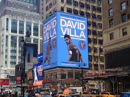 David Villa played for Melbourne City, before the MLS season with New York kicked off