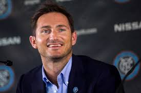 Frank Lampard is all smiles, despite an emotional farewell to English football