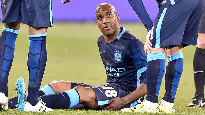 Fabian Delph didn't have the best start to life at Manchester City