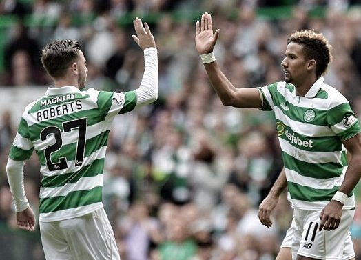 Roberts and Sinclair are expected to face old friends during City's trip to Celtic