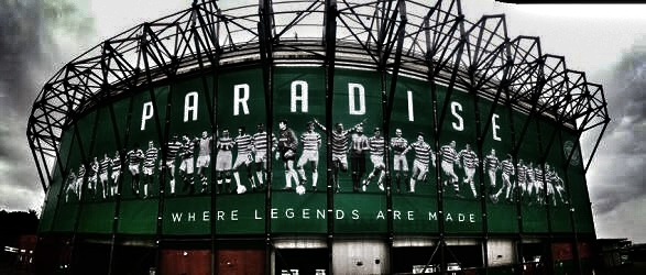 Celtic Park, affectionally known as Paradise