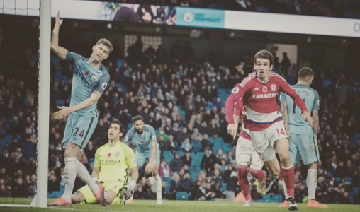 City concede a late goal to Middlesbrough, drawing three home games in a row